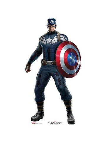 Marvel Captain America The Winter Soldier Cardboard Cut Out Stand-Up
