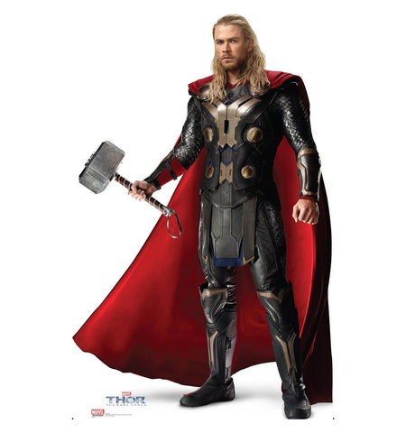 Thor 2 The Dark World Thor Cardboard Cut Out Stand-Up