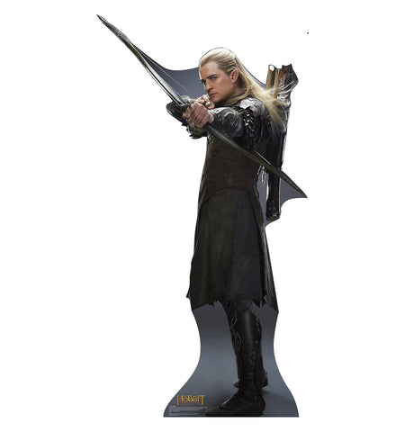 The Hobbit The Desolation of Smaug Legolas Cardboard Cut Out Stand-Up