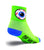 SockGuy Big Brother Eye See You Mens Green Socks S/M