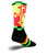 SockGuy LAX Maryland Mens Neon Socks L
