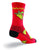 SockGuy Taco Tuesday Mens Red Socks L