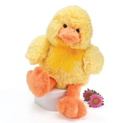 Easter Quacking Yellow Duck 10 Inch Plush Toy