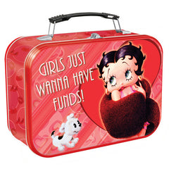 Betty Boop Extra Large Tin Tote