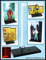Action Figure Display System 3-pack