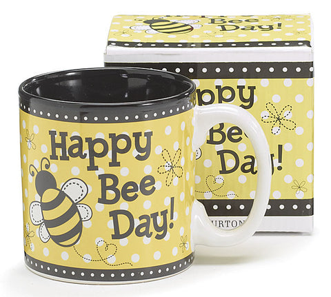 Happy Bee Day! Ceramic Mug