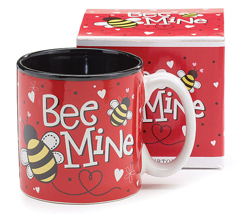 Bee Mine Ceramic Mug