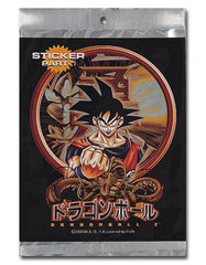 Dragon Ball Z Foil Sticker Pak (Part-1)