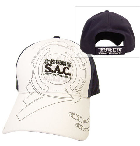 Ghost In The Shell SAC Logo Sign Baseball Cap