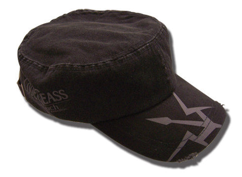 Code Geass Black Knights Military Hat
