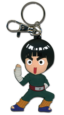 Naruto Chibi Rock Lee (Fight Stance) Keychain