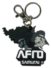 Afro Samurai Afro And Justice Pvc Keychain