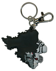 Afro Samurai Afro Droid Half Face Pvc Keychain