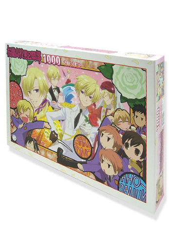 Ouran Hs Host Club 1000 Pieces Group Puzzle