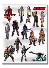 Metal Gear Solid Sticker Set
