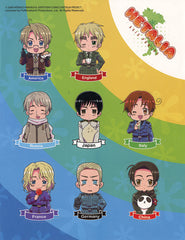 Hetalia Sticker Sheet
