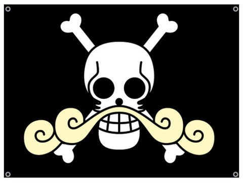 One Piece Gold Roger's Flag
