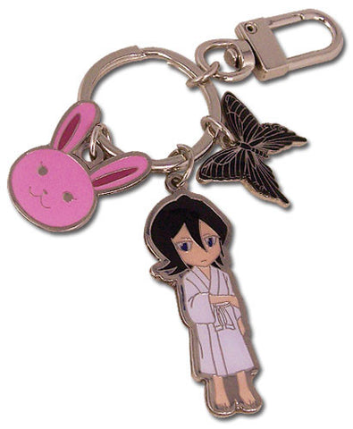 Bleach Rukia, Hell Butterfly Chappy Metal Keychain
