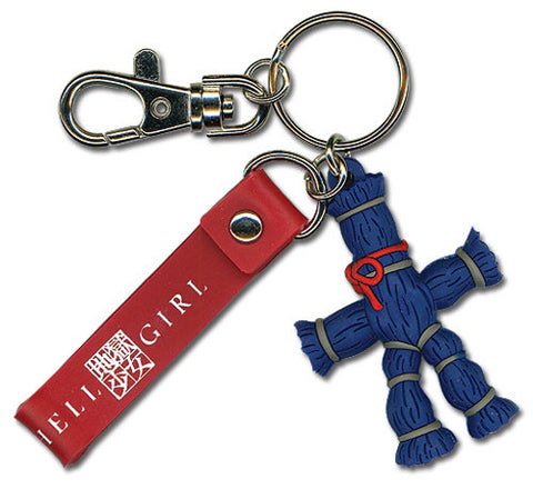 Hell Girl Straw Doll 3D Pvc Keychain