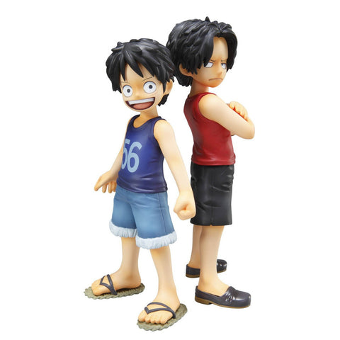 One Piece: Excellent Model P.O.P Luffy & Ace Figure Set