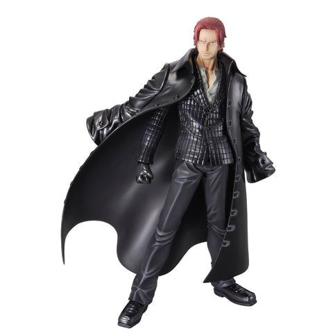 One Piece Portrait.Of.Pirates Strong Edition Red Haired Shanks 1/8 PVC Figure