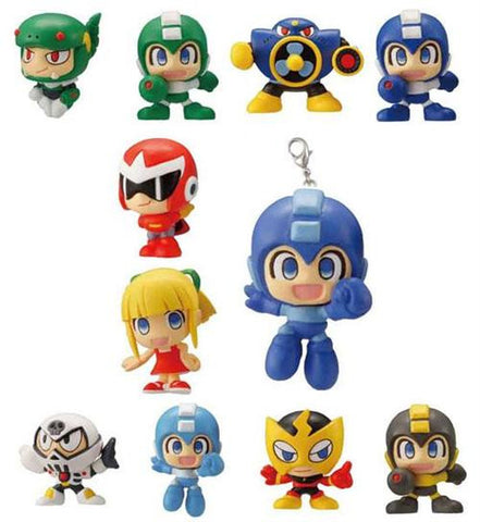 Megaman Rockman Mini Collection Trading Figures (Display of 12)