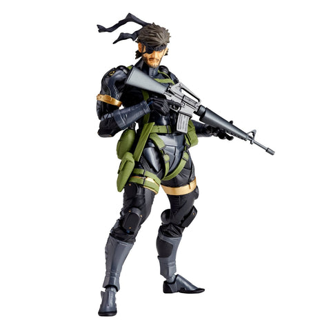 Metal Gear Solid Peace Walker: Naked Snake Sneaking Suit Revoltech Action Figure