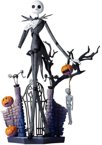 The Nightmare Before Christmas Jack Skellington Sci-Fi Revoltech #005 Action Figure