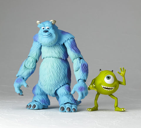 Monsters Inc. Mike and Sully Revoltech No. 028 Action Figure