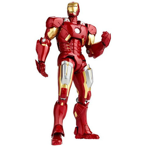 Iron Man: SCI-FI Revoltech No.042 Iron Man Mark 7 Action Figure