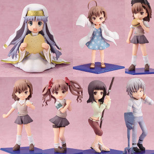 To Aru Majutsu no Index II: Toys Work Collection 4.5 Trading Figure Box (Display of 10)