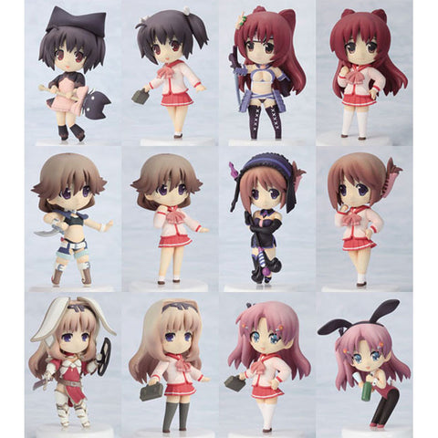 To Heart 2: Dungeon Travelers PVC Trading Figures (Display of 12)