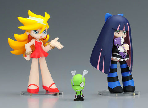 Panty & Stocking with Garterbelt: Twin Pack Panty & Stocking with Chuck Figure Set
