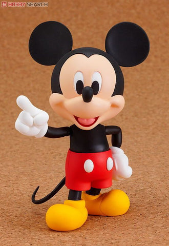 Nendoroid Disney Mickey Mouse Figure Pvc Import From Japan