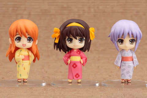 The Melancholy of Haruhi Suzumiya: Nendoroid Petit Summer Festival Set (set of 3)
