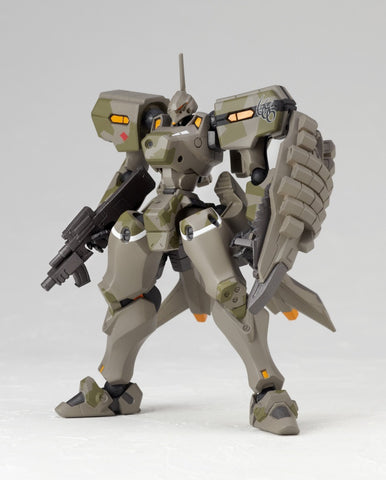 Muv-Luv Alternative MiG-21 Balalaika Schwarzesmarken Custom Revoltech Series No.006 Action Figure