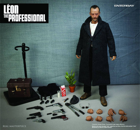 Leon the Professional Real Masterpiece 1/6 Scale Action Figure Set
