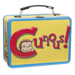 Curious George Large Tin Tote