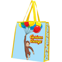 Curious George Large Recycled Shopper Tote