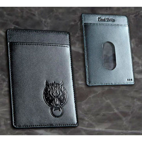 Final Fantasy VII Advent Children Cloud Genuine Leather Pass Case