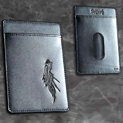 Final Fantasy VII Advent Children Sephiroth Genuine Leather Pass Case