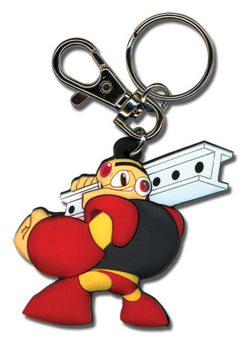 Megaman Powered Up Gustman Pvc Keychain