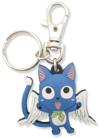 Fairy Tail Sd Happy Pvc Keychain