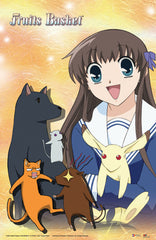 Fruits Basket Tohru And Animals Poster