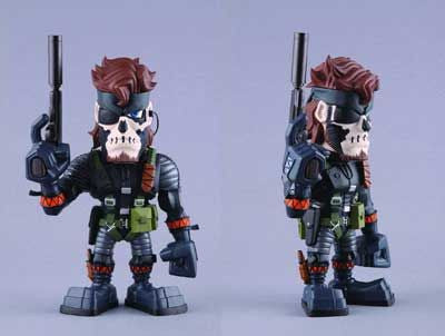 Metal Gear Solid 3: Naked Snake (Big Boss) (Zombie Face Paint) VCD Action Figure