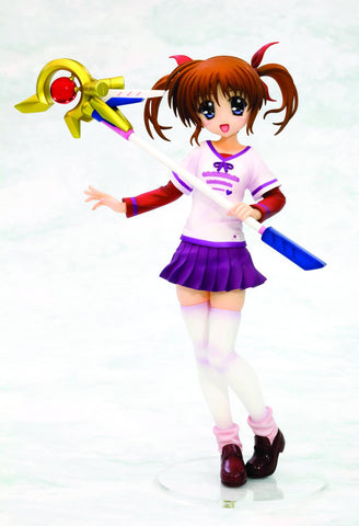 Kotobukiya Magical Girl Lyrical Nanoha The Movie 1st: Nanoha Takamachi (Everyday Wear Version) Ani-Statue