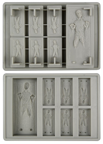 Star Wars Han Solo in Carbonite Silicon Tray Mold