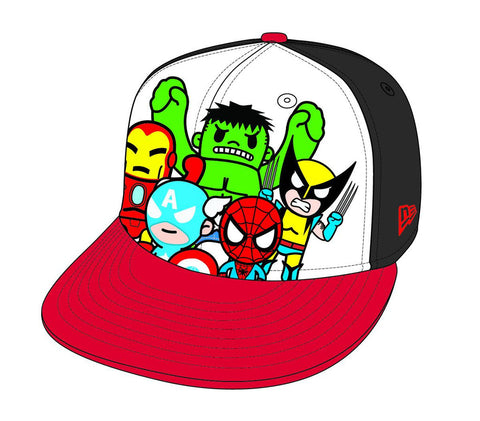 Tokidoki X Marvel Heroes 59fifty Baseball Cap 7 5/8