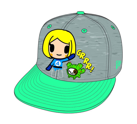 Tokidoki x Marvel Invisible Girl Adjustable Hat