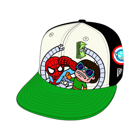 Tokidoki x Marvel: TXM - Spiderman Brawl 59Fifty Size 7 5/8 Cap